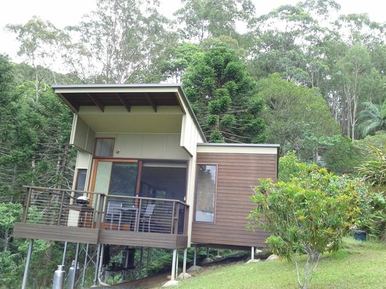Montville Oceanview Cottages: Our cottage for two nights