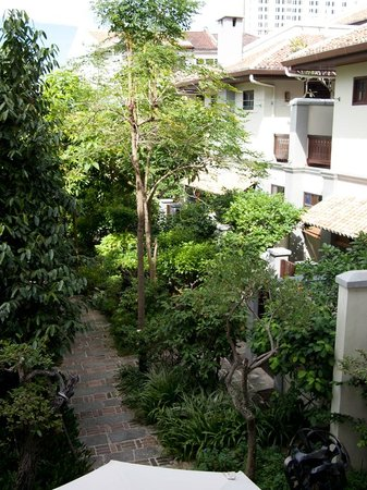 Hotel Penaga: View of the Courtyard, peaceful