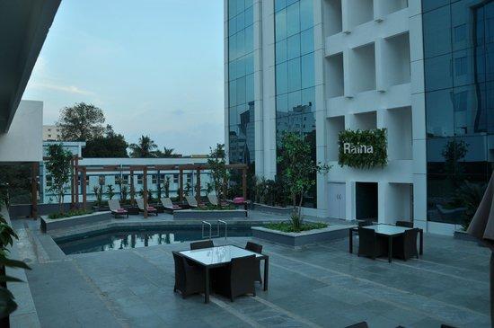 Swimming Pool Picture Of Clarion Chennai Chennai Tripadvisor