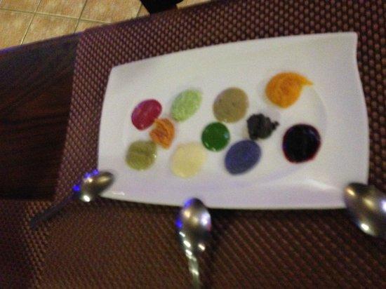 Gastronomia El Buzo: Paleta de colores y sabores