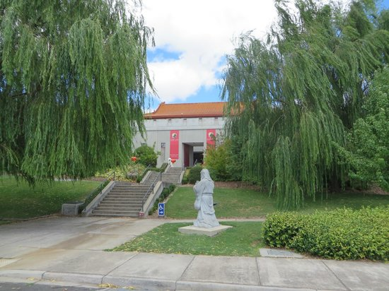 Gum San Chinese Heritage Centre: The outside of the museum