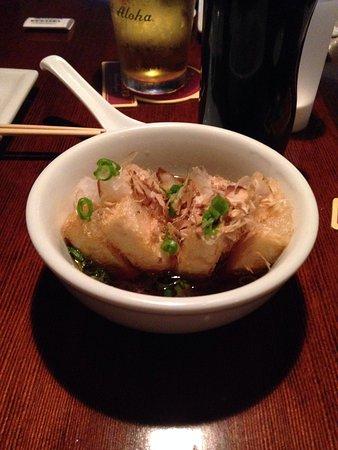 Kenichi Pacific Sushi & Pacific Rim: Agedashi tofu was the best dish