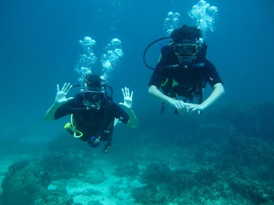 Heart & Soul Divers: Look no hands!