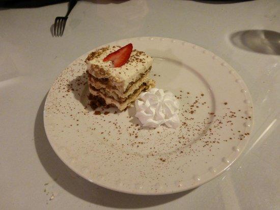 La Bella Vita: Tiramisu looks better than it tastes.