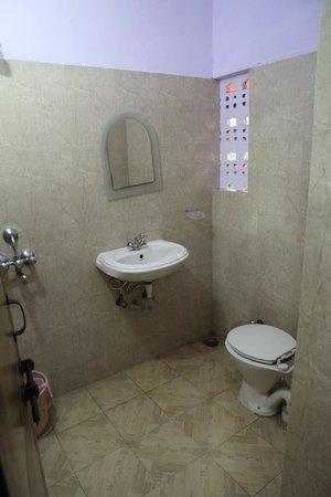 Hotel Sidhartha: Туалет + душ