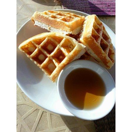 Villa Zolitude Resort and Spa: Yummy Waffles