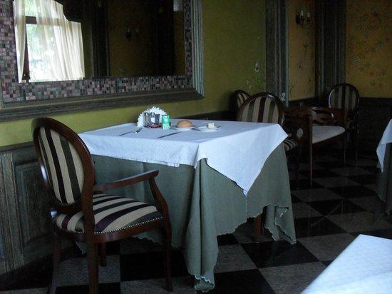 Hotel Westa: Ресторан