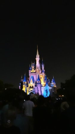 Happily Ever After Fireworks: Before the fireworks