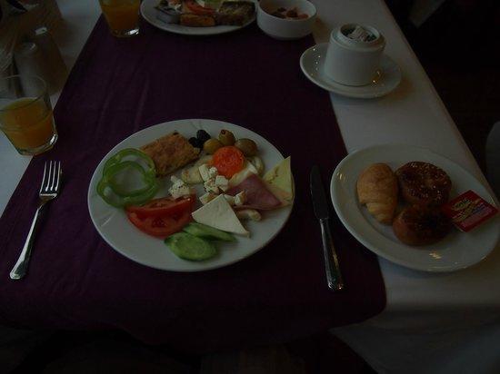 Hotel Mina : 朝食