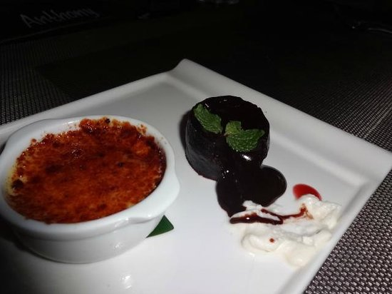 best chocolate pudding - Picture of Bali Pearl Restaurant, Legian ...