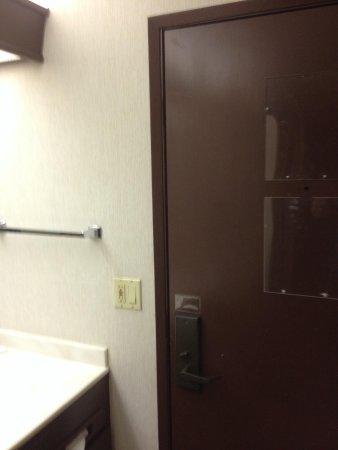 Hilltop Suites Hotel: Bathroom! Eewwww