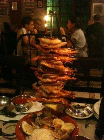 Restaurante Parreirinha : seafood kebab