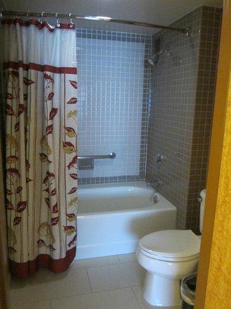 Courtyard Los Angeles LAX/Century Boulevard: Bathroom in Room 404