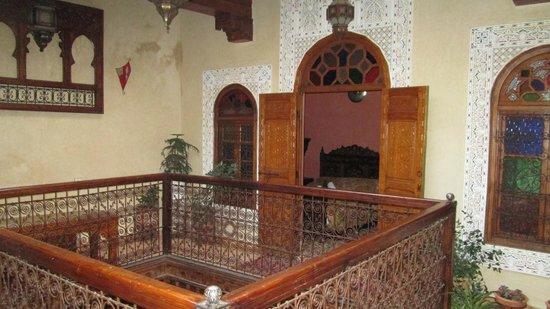 Riad Benchekroun: Third floor room from balcony