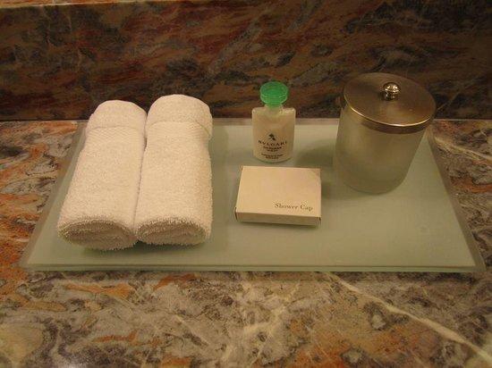 Four Seasons Hotel New York: Bulgari Toiletries