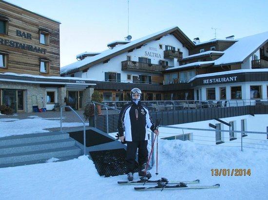 Hotel Saltria - true alpine living: Vor dem Hotel
