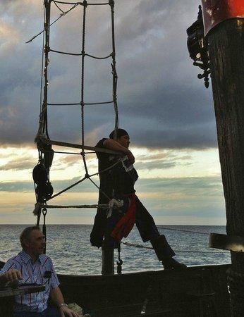 Jean Laffite Pirate Dinner Cruise: Black Shark