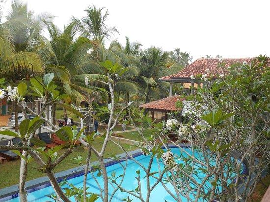 Wunderbar Beach Club Hotel: Aussicht von der Terrasse