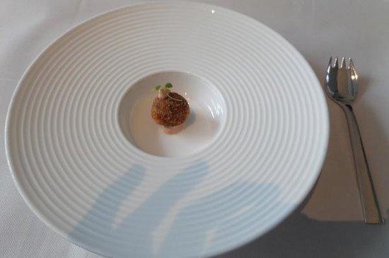 The Modern: amuse bouche (fois gras truffle)