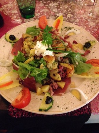 L'Assiette Lorraine: Salade Lorraine