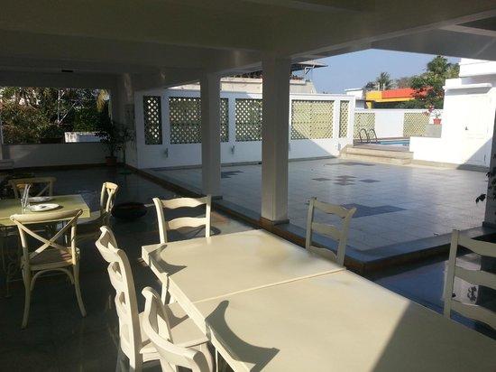 Tissa's Inn: Roof Terrace