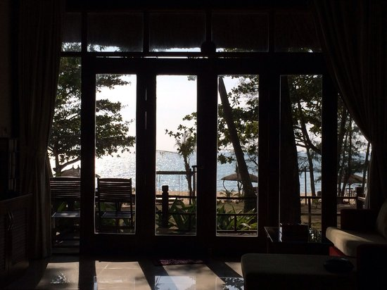 Arcadia Phu Quoc Resort: View from beach front bungalow