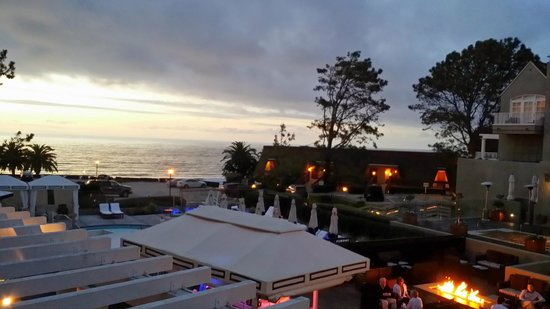 L'Auberge Del Mar : view from the room