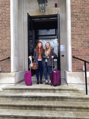 DoubleTree by Hilton London Greenwich: Going home...