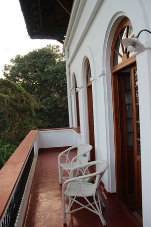 Brunton Boatyard: Der Balkon