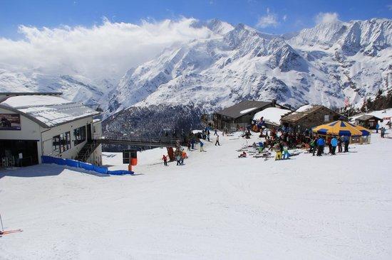Pension Heino: Skigebiet Hohsaas/Saas-grund