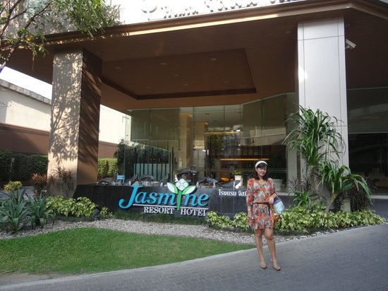 Jasmine Resort Hotel : 玄関