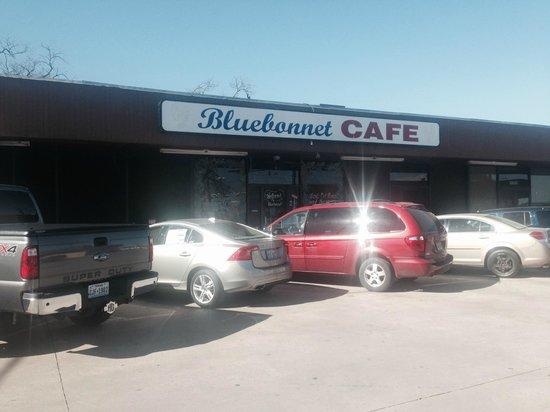 Bluebonnet Cafe: Bluebonnet Front