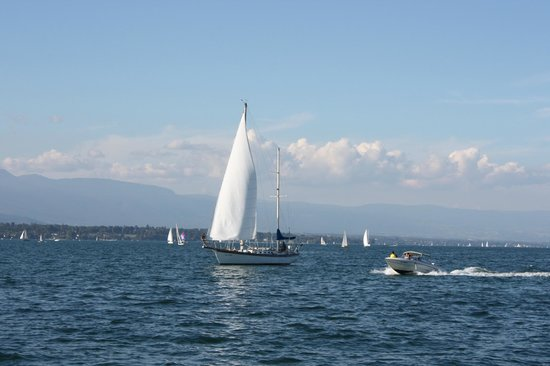 Lago de Ginebra: Активный отдых