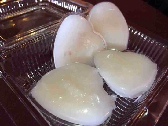 Wan Thai: Yummy coconut jelly, trust me You will love this