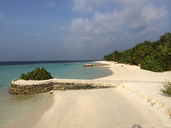 Lily Beach Resort & Spa: The view of the beach
