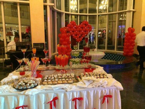 IBEROSTAR Averroes: Réception (St valentin)