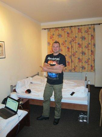 Hotel Prokopka: Вид на номер и обитателей)