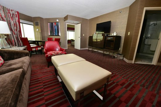 Tower One Bedroom Suite Picture Of Mgm Grand Hotel And Casino Las Vegas Tripadvisor