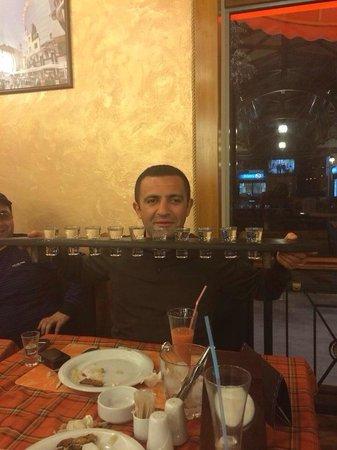 Vienna ribs : 1metre of vodka))))