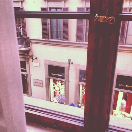 B&B Florence Chic: Our view!