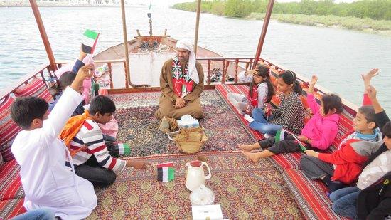 Abu Dhabi Pearl Journey: Pearl Cultural Program for Kids