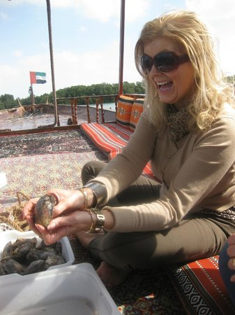 """Abu Dhabi Pearl Journey: Happy guest .. very happy """"its a beautiful Pearl"""""""