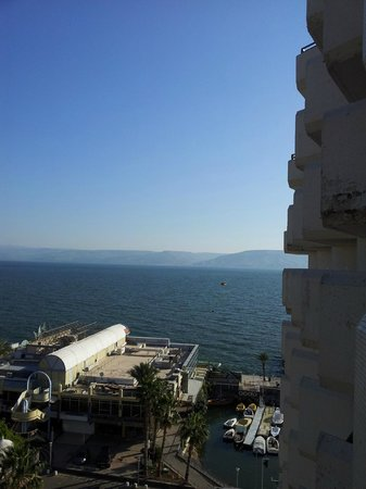 Leonardo Plaza Hotel Tiberias: View from my room