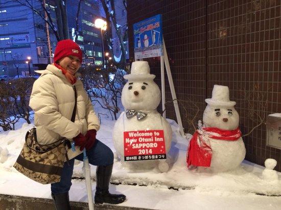 New Otani Inn Sapporo: happy