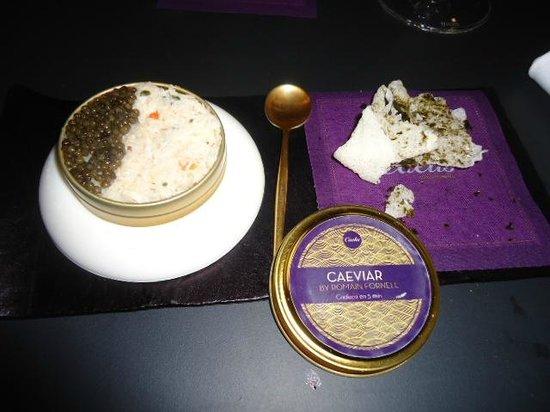 Caelis: Caviar Baeri, Celeri y Buey de Mar