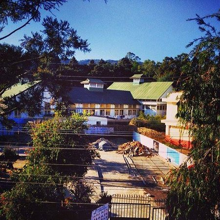 The Habitat Shillong: Morning view from Room 201