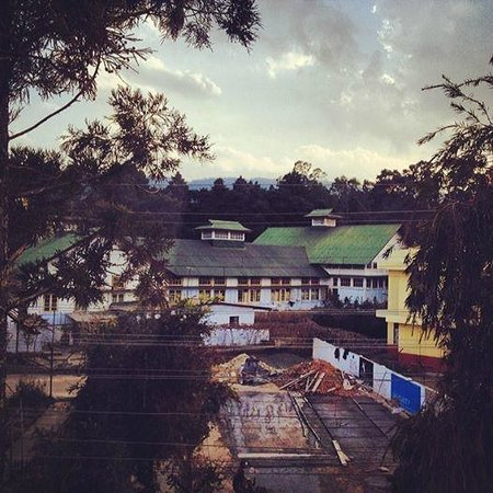 The Habitat Shillong: Evening view from Room 201