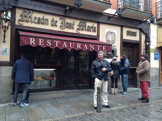 Restaurante Jose Maria: aqui después de una buena comida