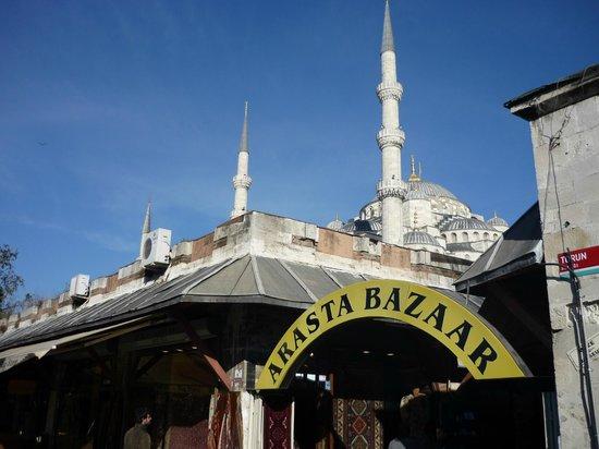 Star Hotel Istanbul: Op 5 min loopafstand