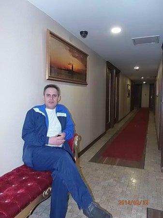 Sky Kamer Boutique Hotel : В коридоре отеля